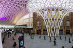 King's Cross Station concourse